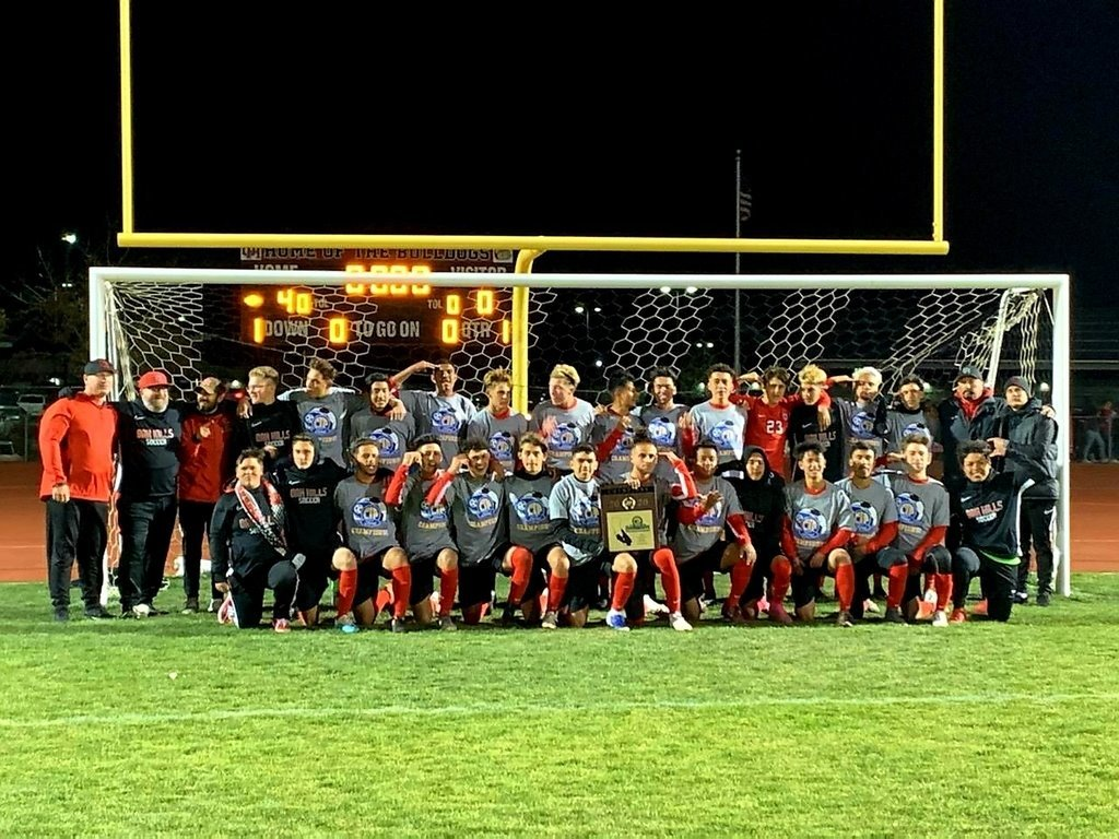 Oak Hills Boys Soccer Team