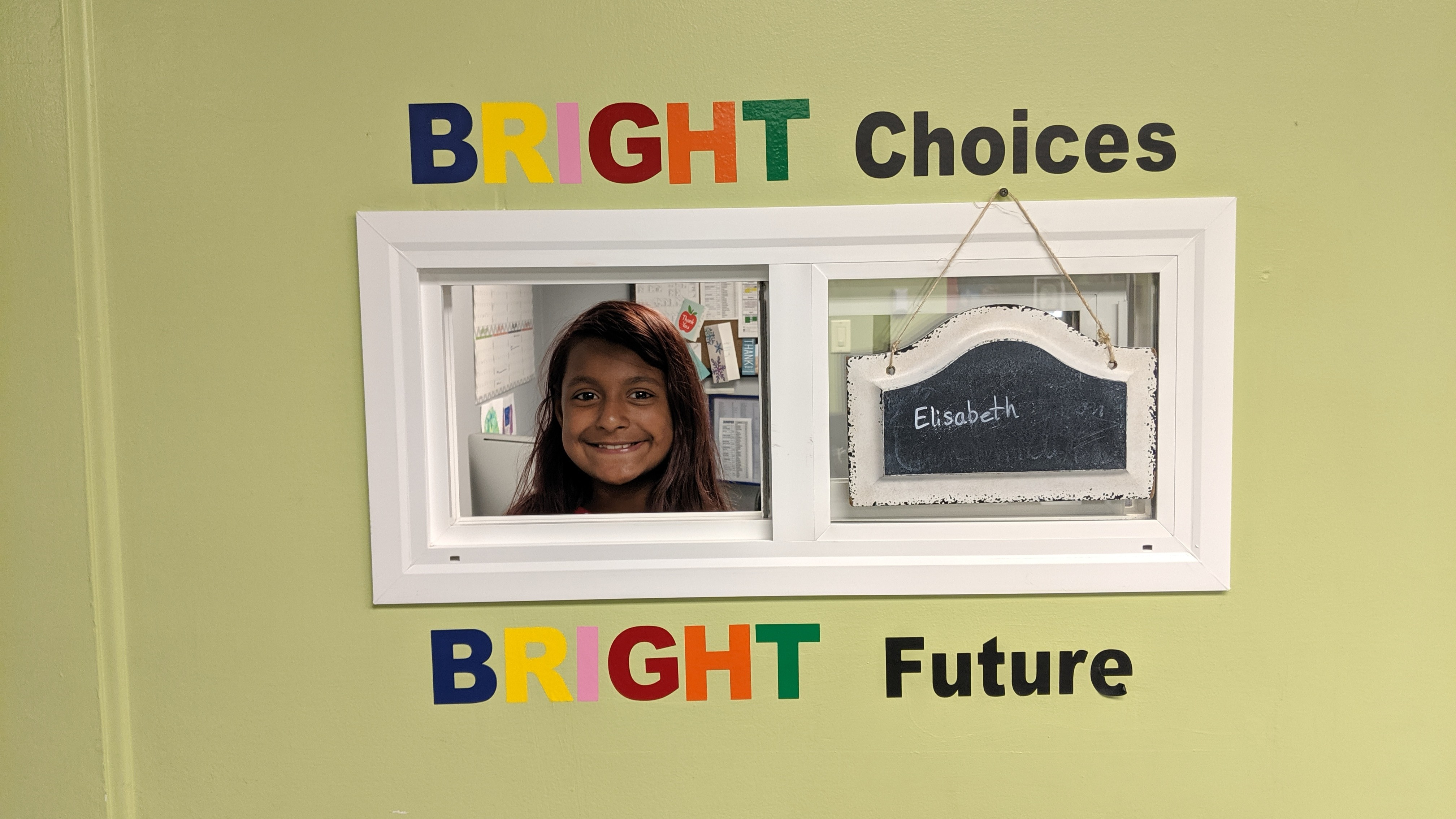 Photo of Bright Spot student