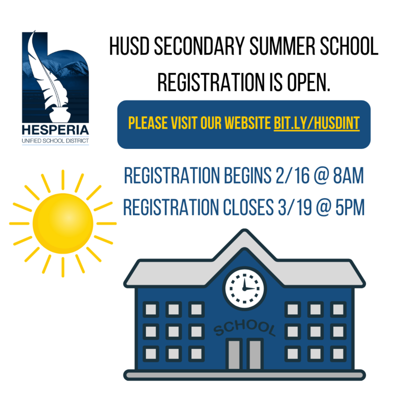 2021 Summer School Registration Link